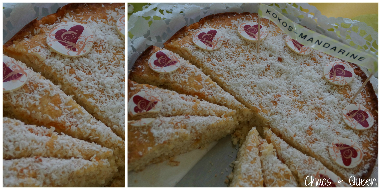 Kokos- Mandarinen- Kuchen