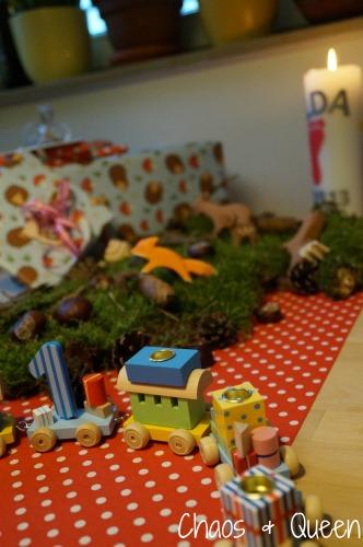 Geburtstag Frühstückstisch