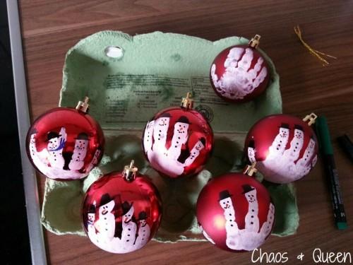 Weihnachtskugel DIY 5