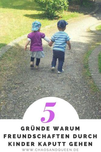 5 Gründe warum Freundschaften durch Kinder kaputt gehen