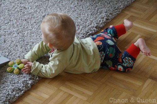 Baby Bauchlage mit Beissring