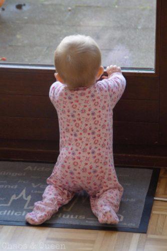 Baby Terrassenfenster