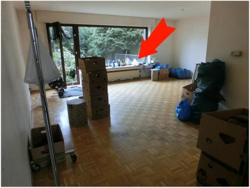 Blick ins Ess/Wohnzimmer