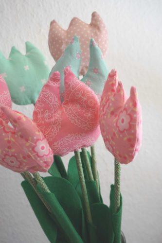 DIY Blumenstrauß nähen