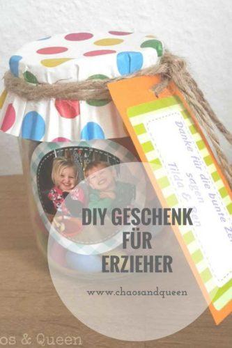 DIY Geschenk Erzieher
