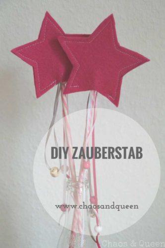 Anleitung DIY Zauberstab
