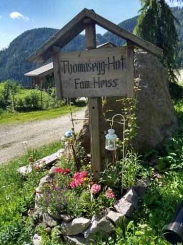 Einfahrt Thomasegghof