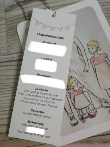 Einladung Hochzeit kreativ