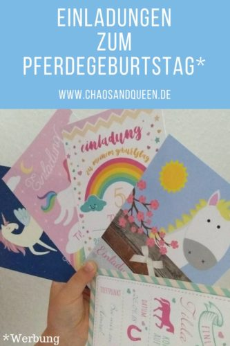 Einladungen Pferdegeburtstag Pinterest