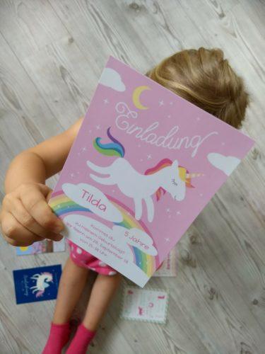 Einladungskarten Mädchen Geburtstag