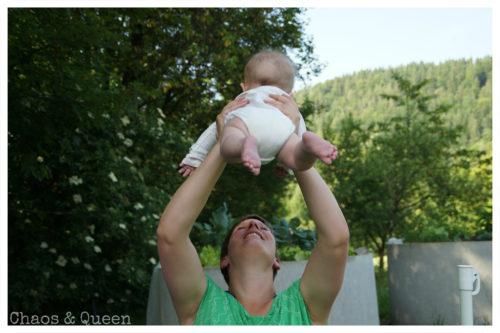 Mutter und Kind Flieger