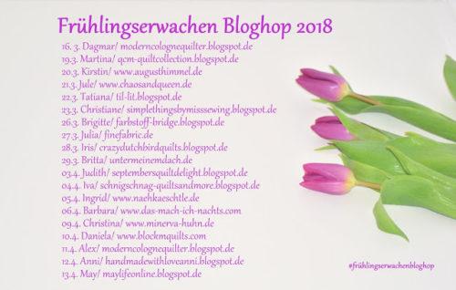 Frühlingserwachen Bloghop 2018