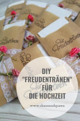 Freudentränen DIY Pinterest