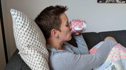 Hugo Frosch Kissen mit Wärmflasche