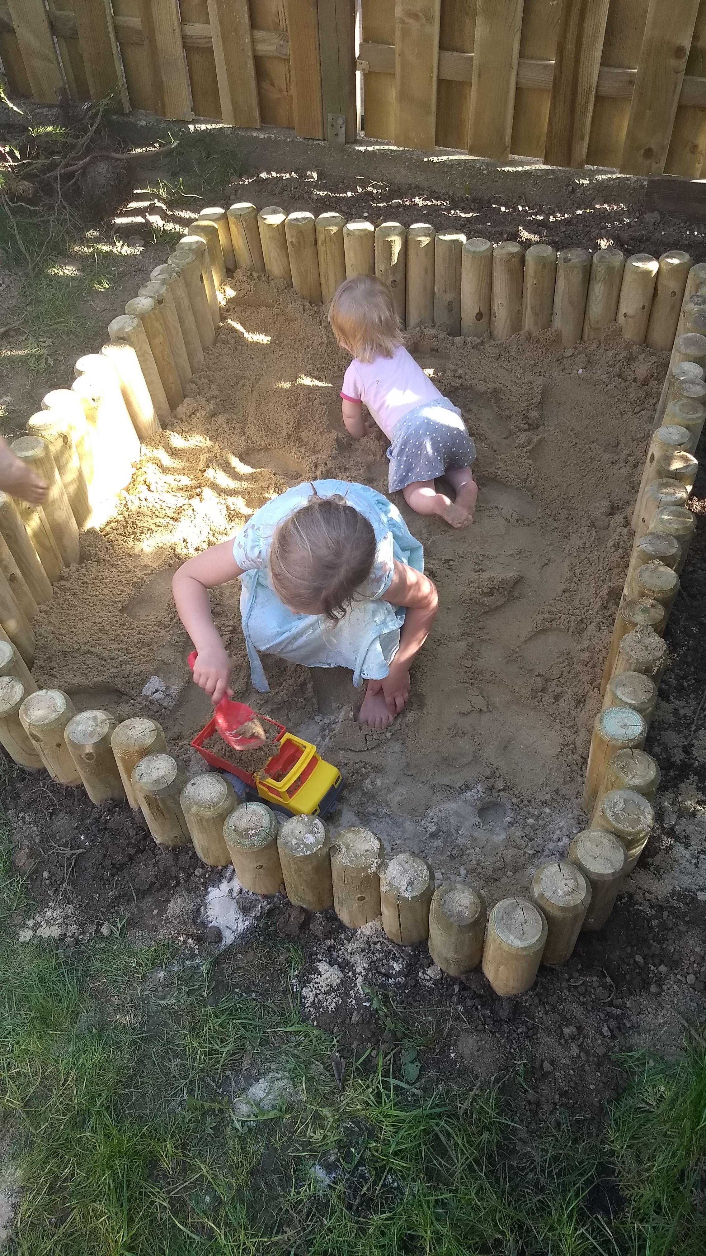 DIY Sandkasten   ein Gartenprojekt für Jedermann