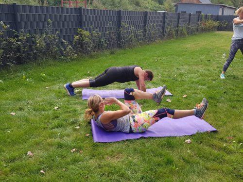 Workout Outdoor Leben Bewegt