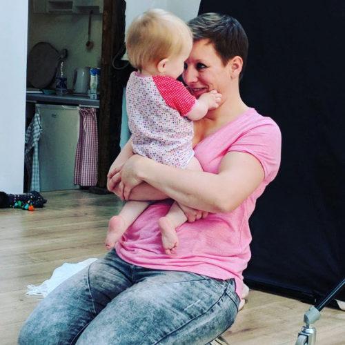 Umarmung Mutter Tochter