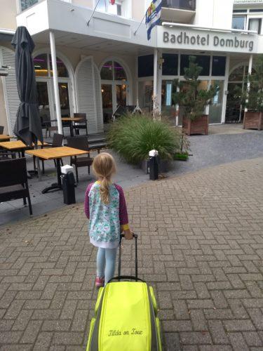 Ankunft Badhotel Domburg