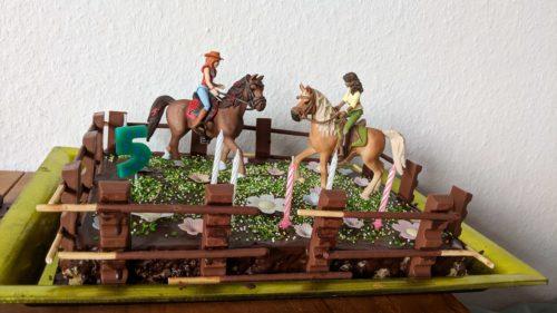 Kindergeburtstag Pferdekuchen