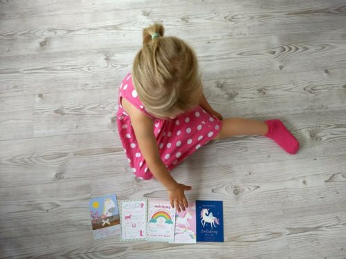 Mädchen Einladung Kindergeburtstag