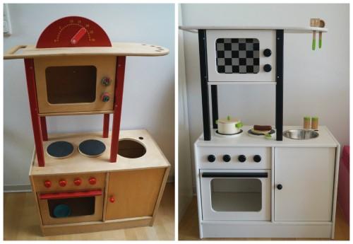 Kinderküche vorher nachher