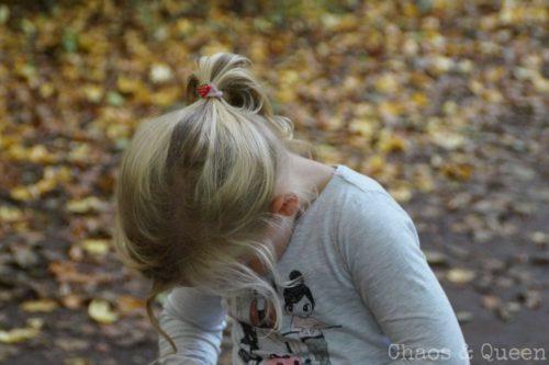 Mädchen im Herbst