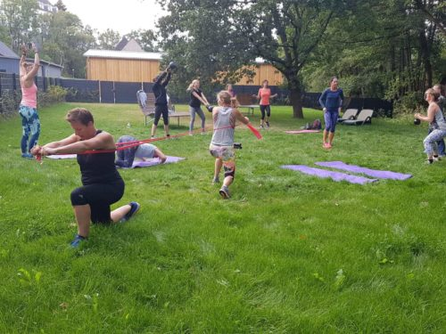 Outdoor Workout Leben Bewegt