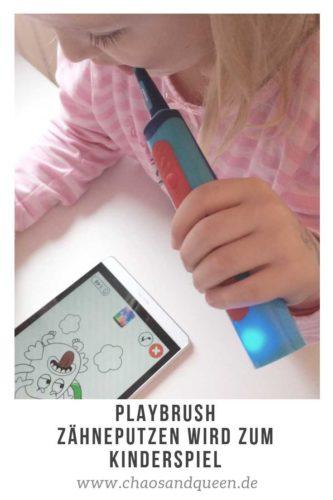 Playbrush Zähneputzen wird zum Kinderspiel