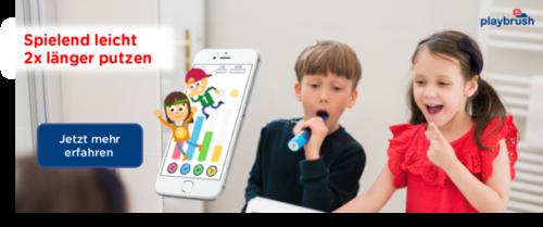 Playbrush Zahnbürste für Kinder