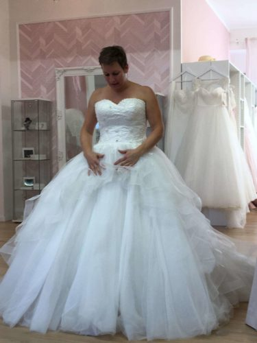 Hochzeitskleid Prinzessin