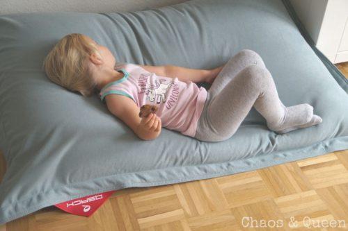 Mädchen Sitzsack