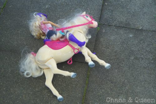 Spielzeugpferd
