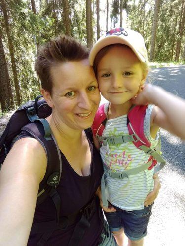 Wanderung Putzer Kreuz mit Kind