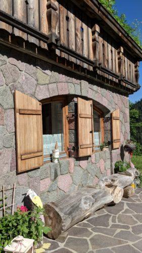 Außenbereich Ferienwohnung Birke Thomasegghof