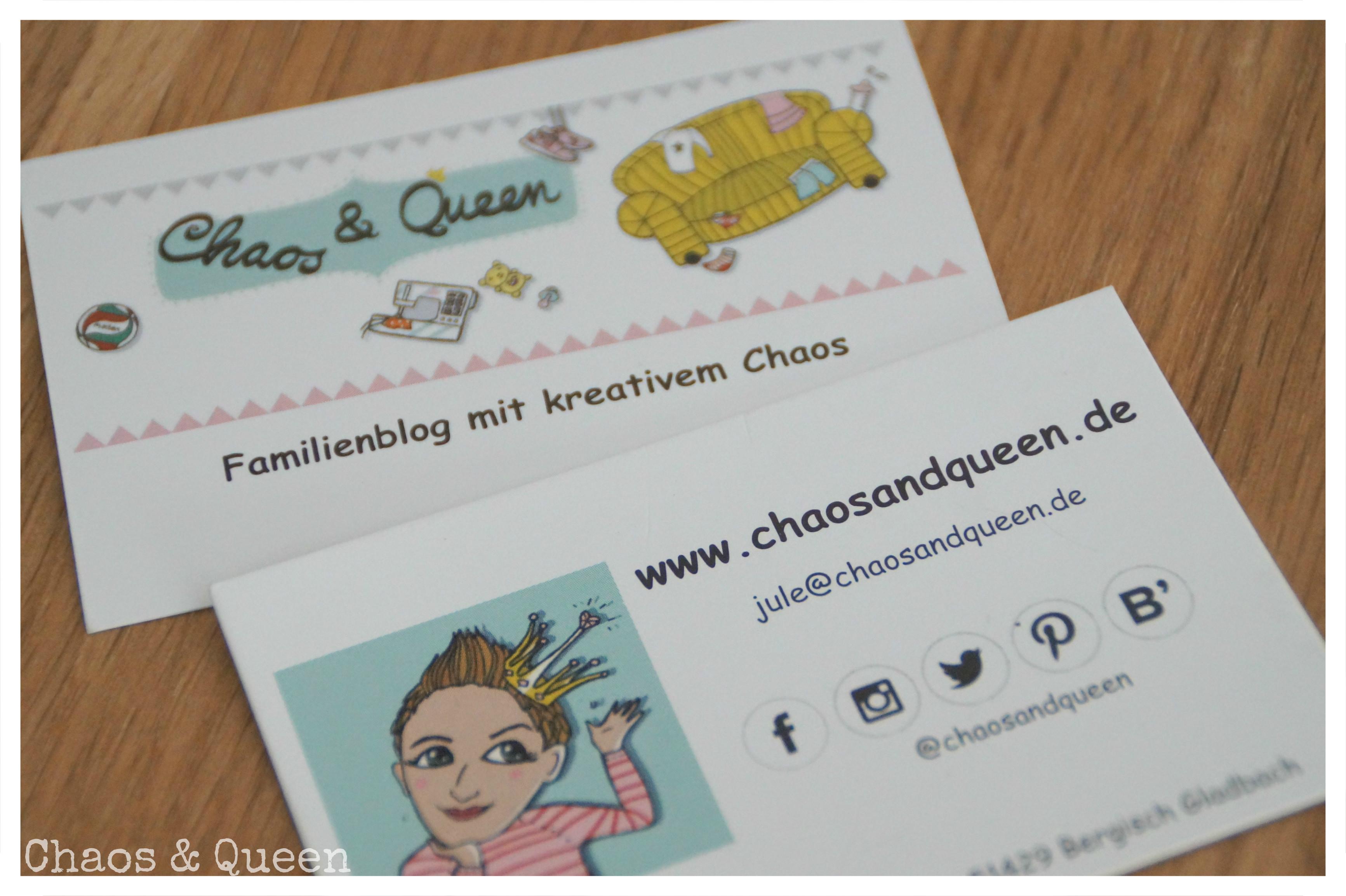Visitenkarten Für Den Blog