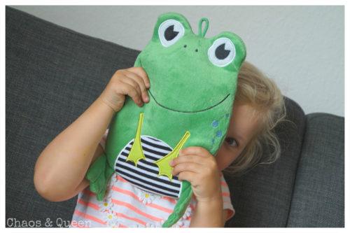 Wärmflasche Frosch