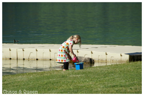 spielendes Kind Walchsee