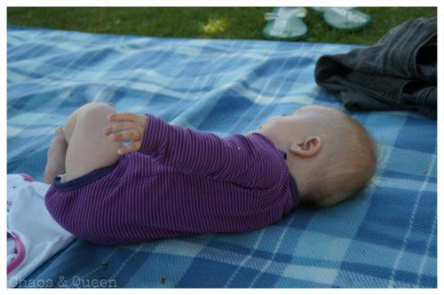Baby Picknickdecke