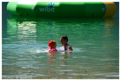 Schwimmen im Walchsee