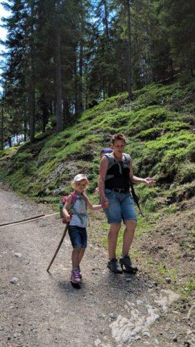 Wanderung Putzer Kreuz mit Kindern