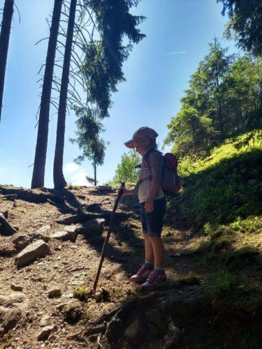 Wanderung mit Kind Putzer Kreuz