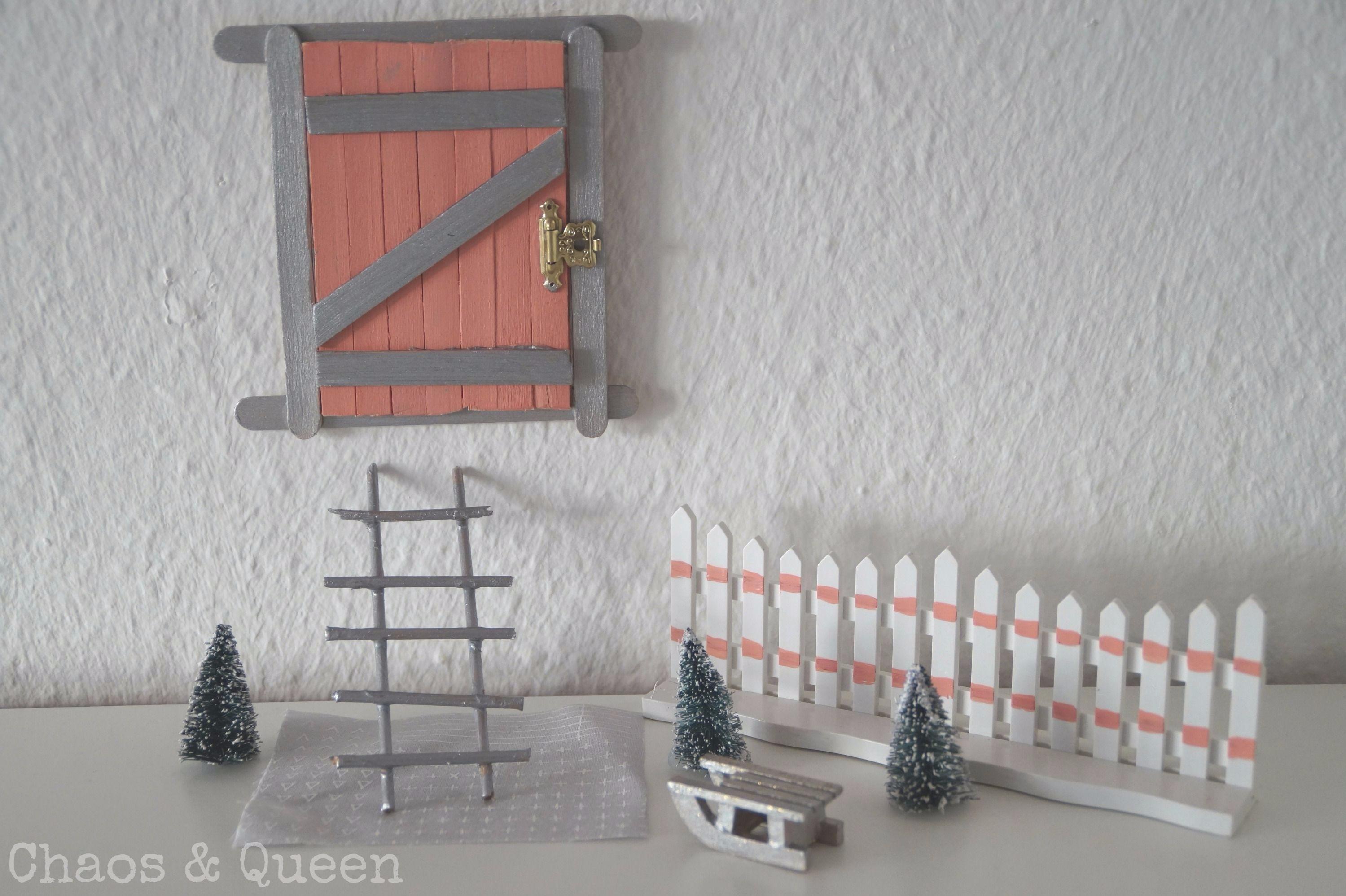 Wichteltüre selber bauen - kleines DIY zur Weihnachtszeit
