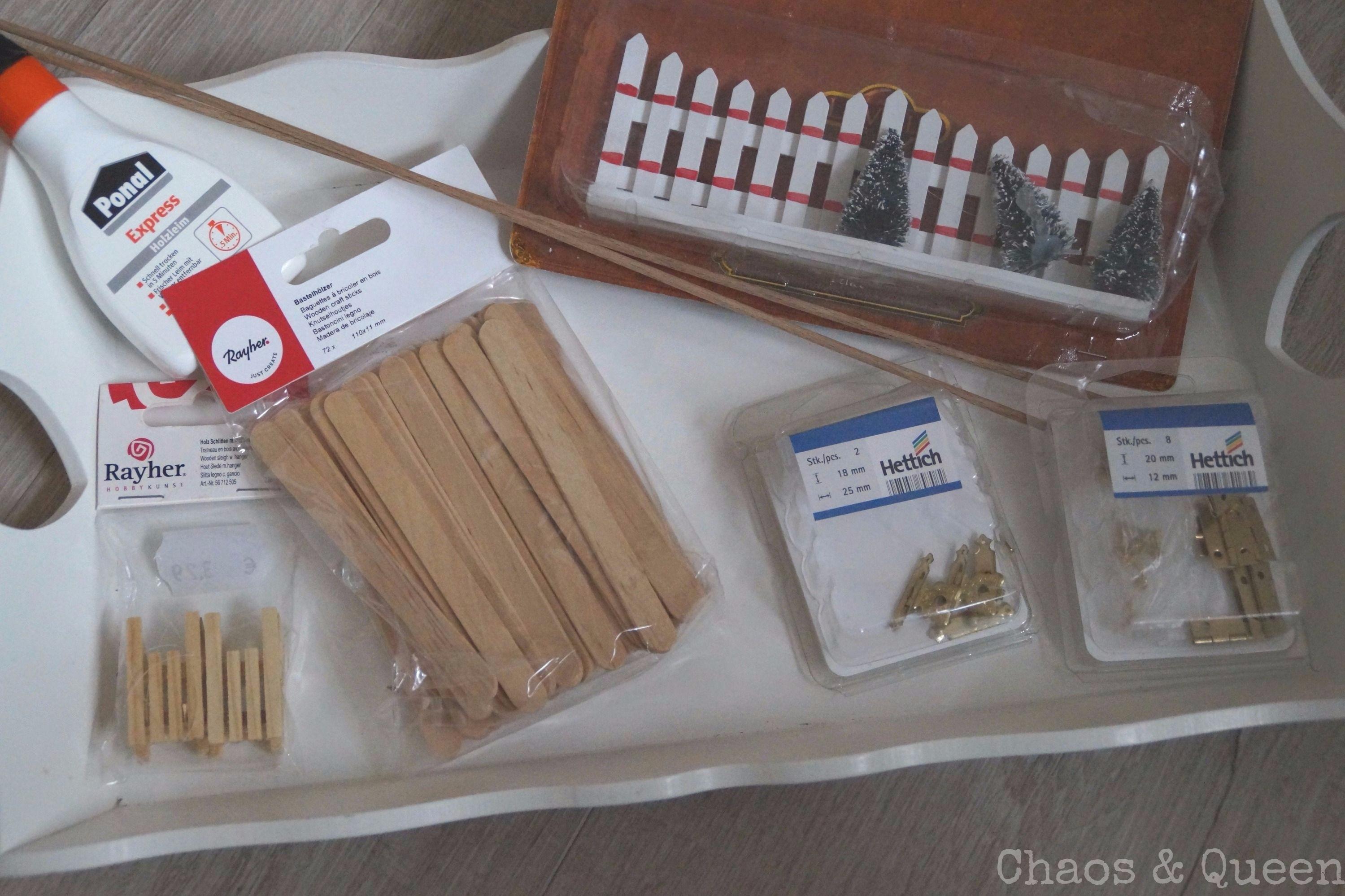 Wichteltüre selber bauen kleines DIY zur Weihnachtszeit