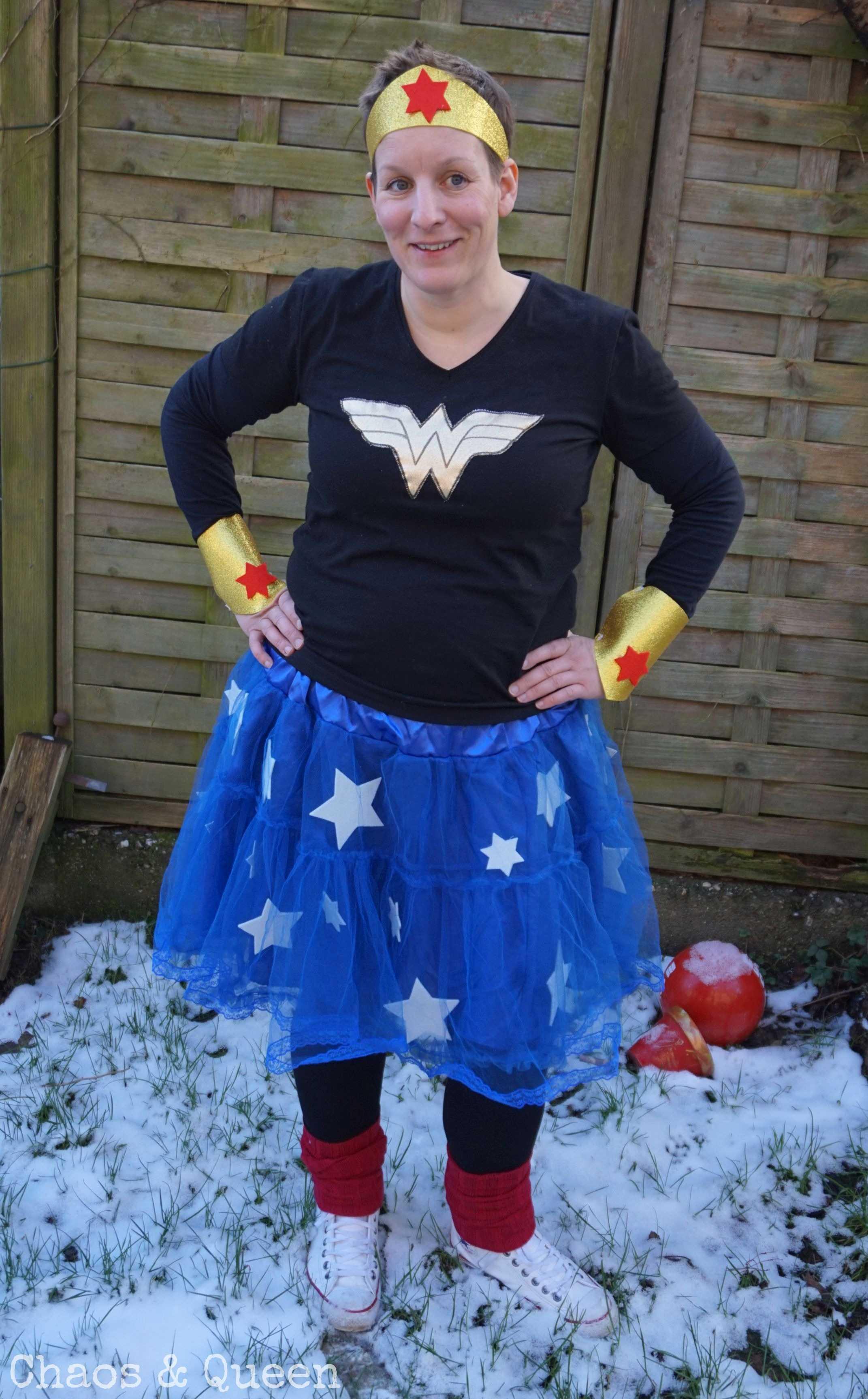 Sind Wir Nicht Alle Ein Bisschen Superheld Diy Kostüm Wonder Woman