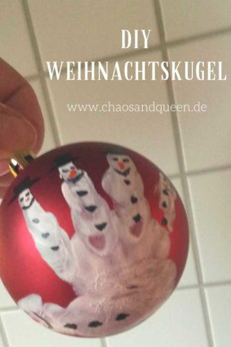 DIY Weihnachtskugel